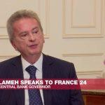"""Le gouverneur de la banque centrale libanaise s'exprime sur la crise financière du pays : """"Ma conscience est claire""""."""