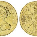 Les pièces d'or aux enchères en ligne de Spink se vendent jusqu'à 65 000 £.