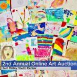 Le centre de jeunesse de Sun Valley organise sa deuxième vente aux enchères annuelle d'art en ligne