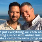 """Les mentors du marketing en ligne """"Darren et Mike"""" aident les gens à lancer une activité en ligne à partir de zéro et à transformer complètement leur vie."""