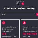 """Une calculatrice en ligne indique le nombre d'adeptes dont vous avez besoin pour gagner votre vie en tant qu'""""influenceur""""."""